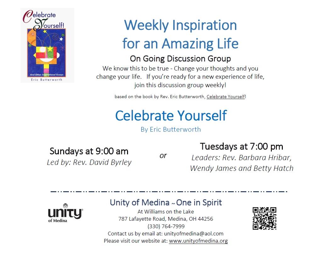Celebrate Yourself - Sunday Class | Unity of Medina
